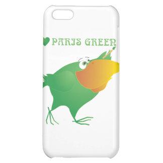 I Heart Paris Green iPhone 5C Cases