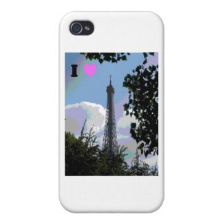 I heart Paris iPhone 4/4S Cover
