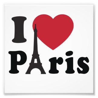 I Heart Paris Photo Print
