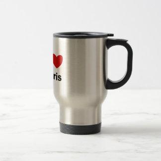 I Heart Paris Travel Mug