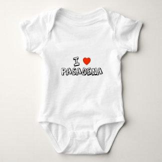 I Heart Pasadena Baby Bodysuit