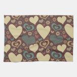 I Heart Patterns Kitchen Towel