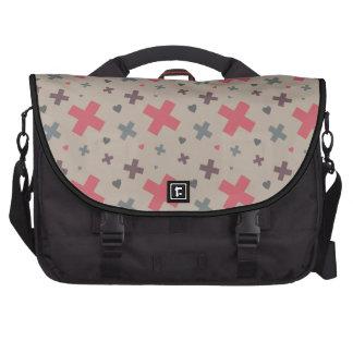 I Heart Patterns Laptop Bag