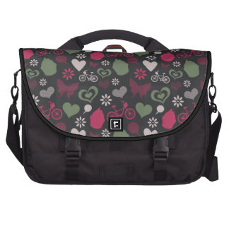 I Heart Patterns Laptop Computer Bag