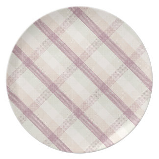 I Heart Patterns Party Plate