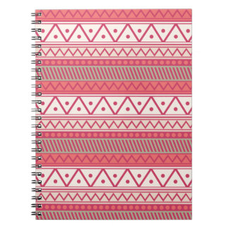 I Heart Patterns Spiral Note Book