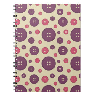 I Heart Patterns Spiral Note Books