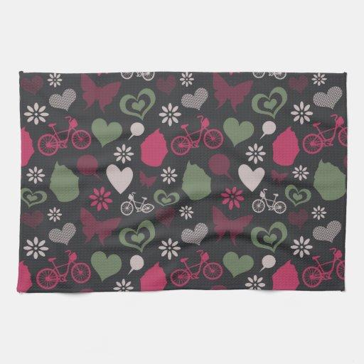 I Heart Patterns Towels