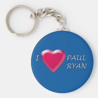 I Heart Paul Ryan Keychain