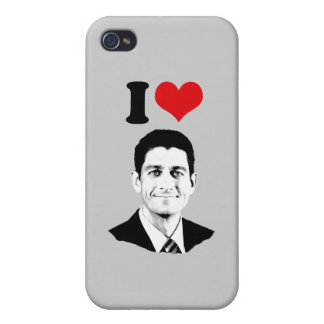 I HEART PAUL RYAN png iPhone 4 Cover