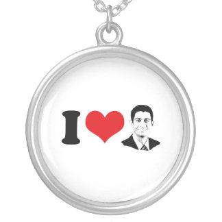 I HEART PAUL RYAN -.png Personalized Necklace