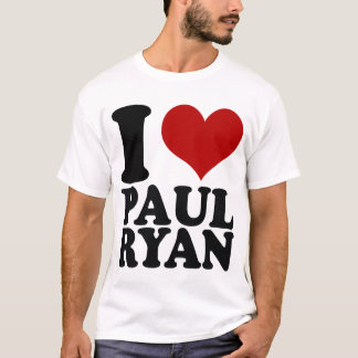 I heart Paul Ryan t shirt