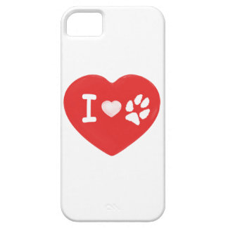 I [heart] Paw iPhone5 case
