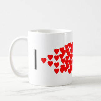 I heart PCR Classic White Coffee Mug