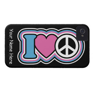 I Heart Peace Case-Mate iPhone 4 Cases