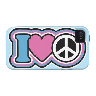 I Heart Peace Case-Mate iPhone 4 Cover