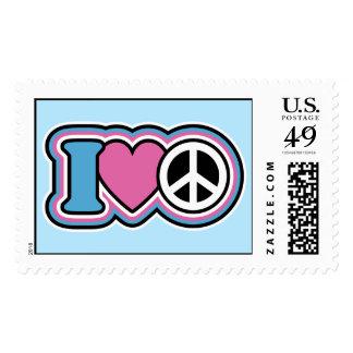 I Heart Peace Postage