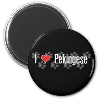 I (heart) Pekingese Magnet