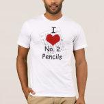 i heart pencils T-Shirt
