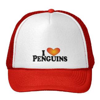 I (heart) Penguins - Lite Multi-Products Mesh Hat
