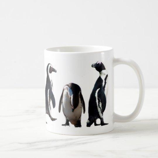 I (heart) penguins mug