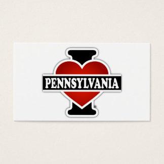I Heart Pennsylvania Business Card