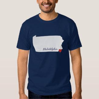 I Heart Pennsylvania - Customizable City T-shirt