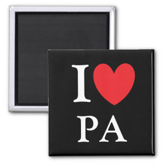 I Heart Pennsylvania Magnet