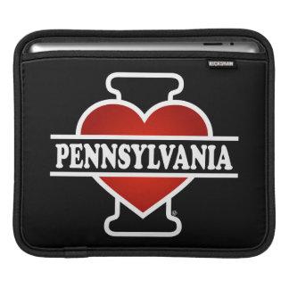 I Heart Pennsylvania Sleeves For iPads