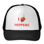 I (Heart) Peppers Trucker Hat