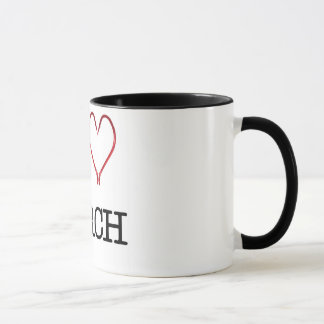 I [Heart] Perch Ringer Mug