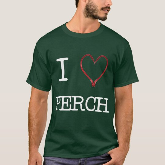 I [Heart] Perch Shirt DARK