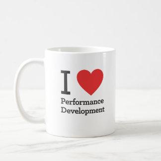 I Heart Performance Development Classic White Coffee Mug