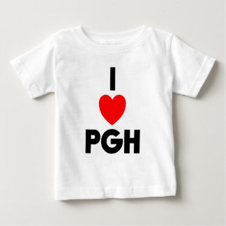 I Heart PGH Baby T-Shirt
