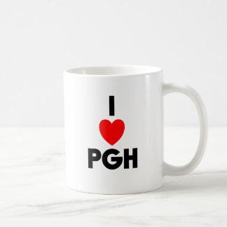 I Heart PGH Classic White Coffee Mug