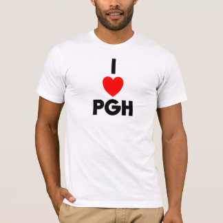 I Heart PGH Fitted Tee