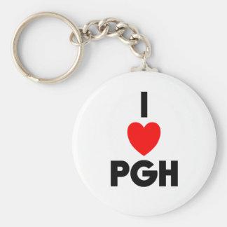 I Heart PGH Keychain