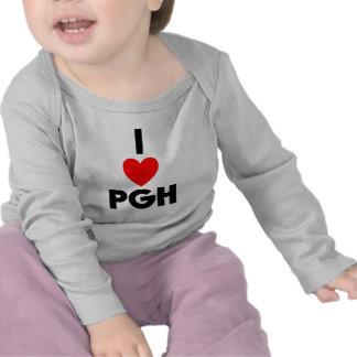 I Heart PGH T Shirt