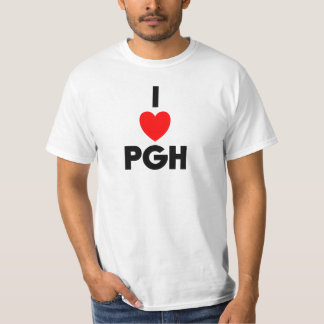 I Heart PGH Value Tee