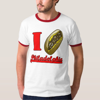 I heart Philly cheesesteaks t-shirt