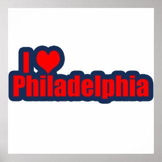 "I ""Heart"" Philly Print"