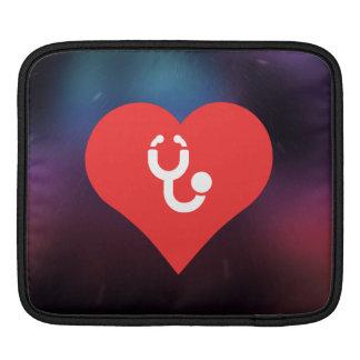 I Heart Phonendoscopes Sleeve For iPads