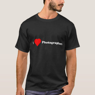 I Heart Photographers T-Shirt