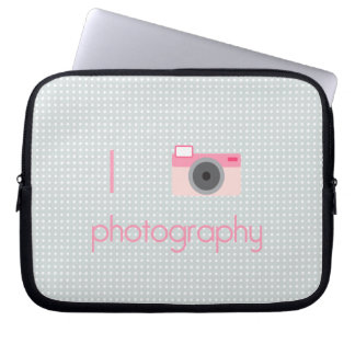 I Heart Photography Computer Sleeves