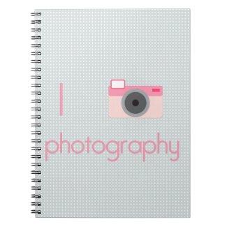 I Heart Photography notebook