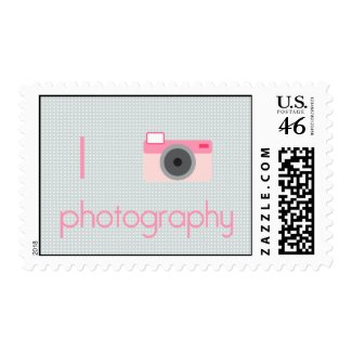 I Heart Photography stamp