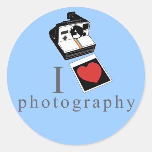I heart photos sticker
