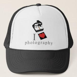 I heart photos trucker hat