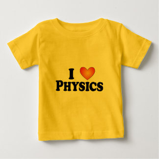 I (heart) Physics - Lite Multi-Products Baby T-Shirt