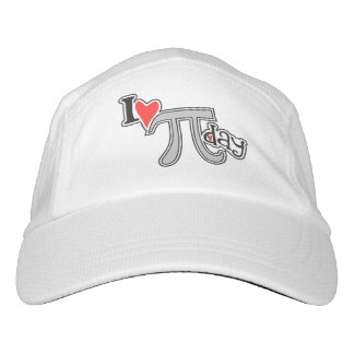 I heart Pi Day - Cool Pi Gift Headsweats Hat